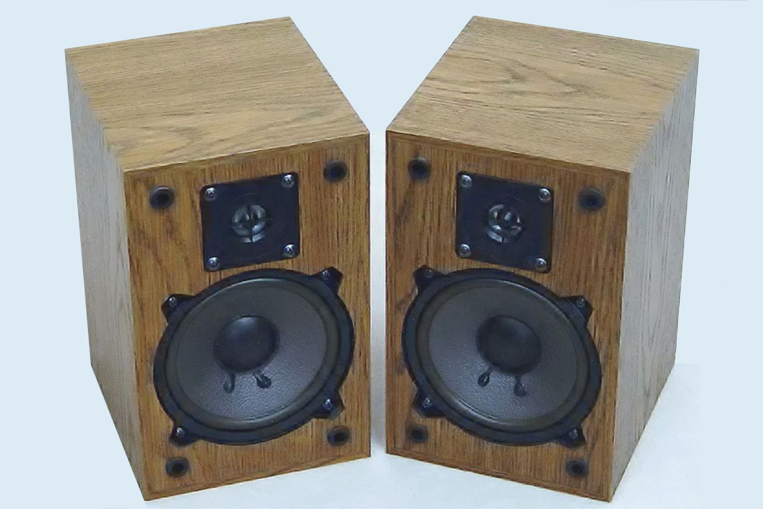 Two stereo speakers