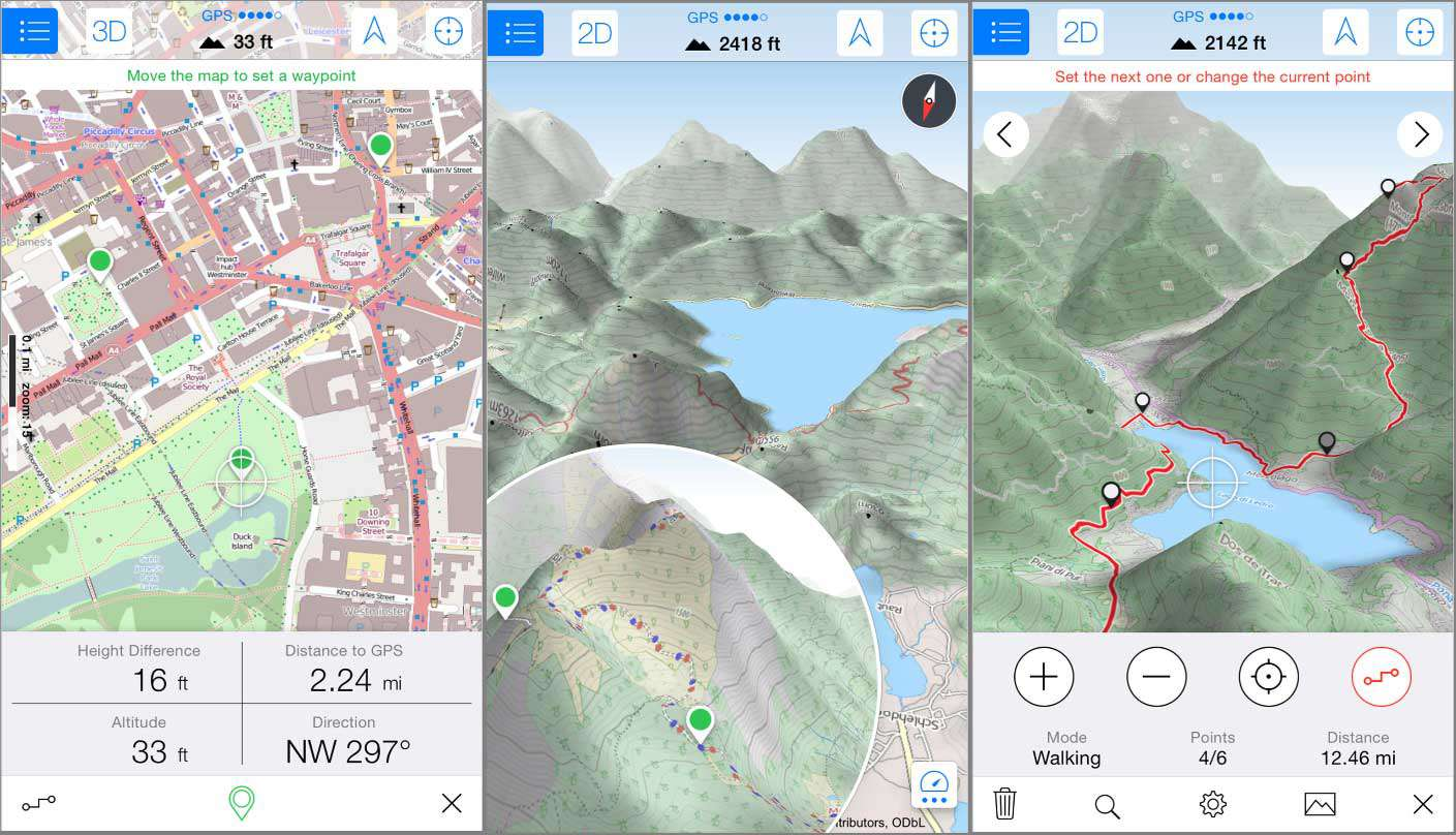 Android Topographic Map App.The 7 Best Hiking And Survival Gps Apps