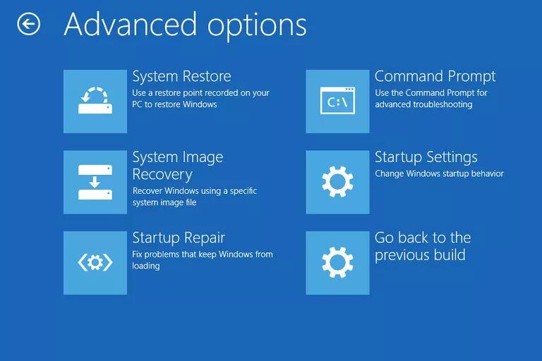 Repair Windows screen
