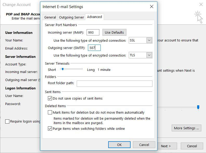 How to Set up Gmail in Outlook
