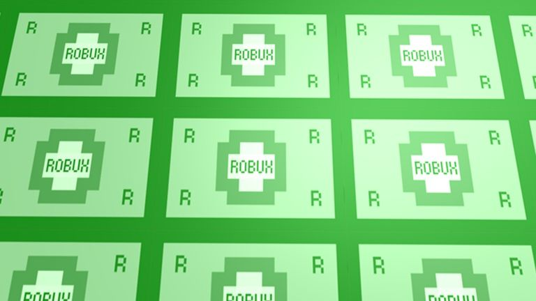 A screenshot of Robux, the currency in Roblox.