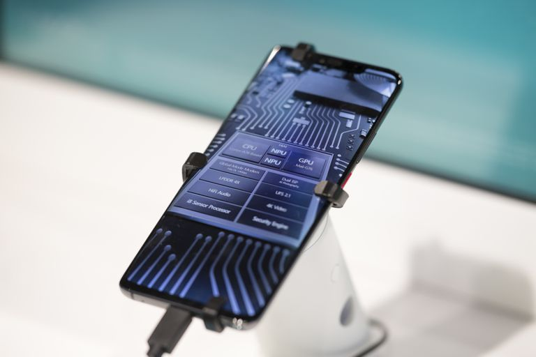 A Huawei Android phone