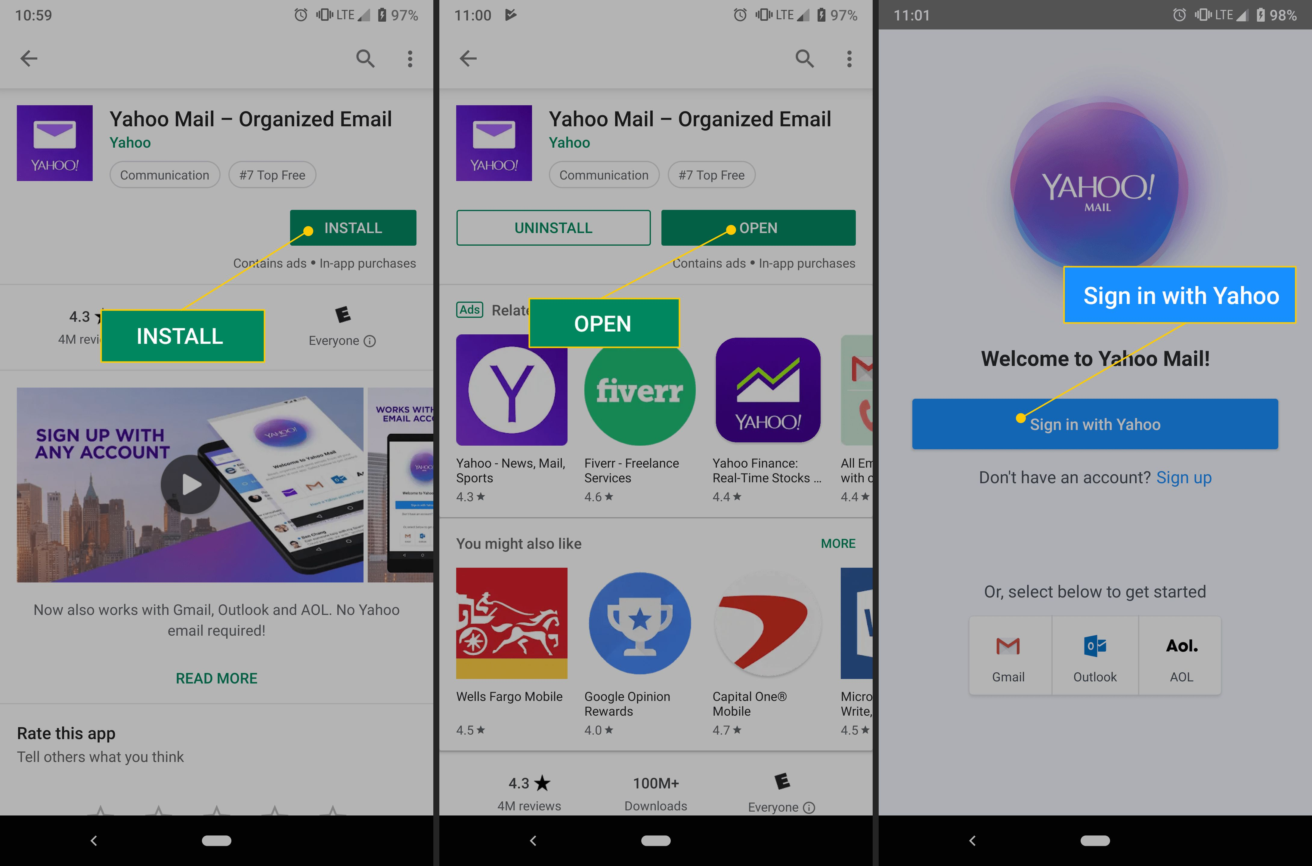 Yahoo Mail? No More Passwords Needed
