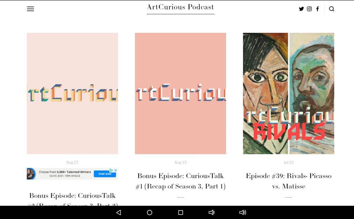 Art Curious Podcast