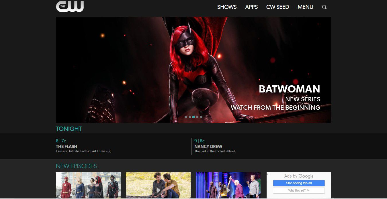 Catch Up with Your Favorite CW Shows