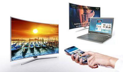 Samsung SmartView media sharing examples