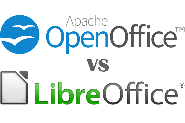 Picture of the LibreOffice and OpenOffice logos