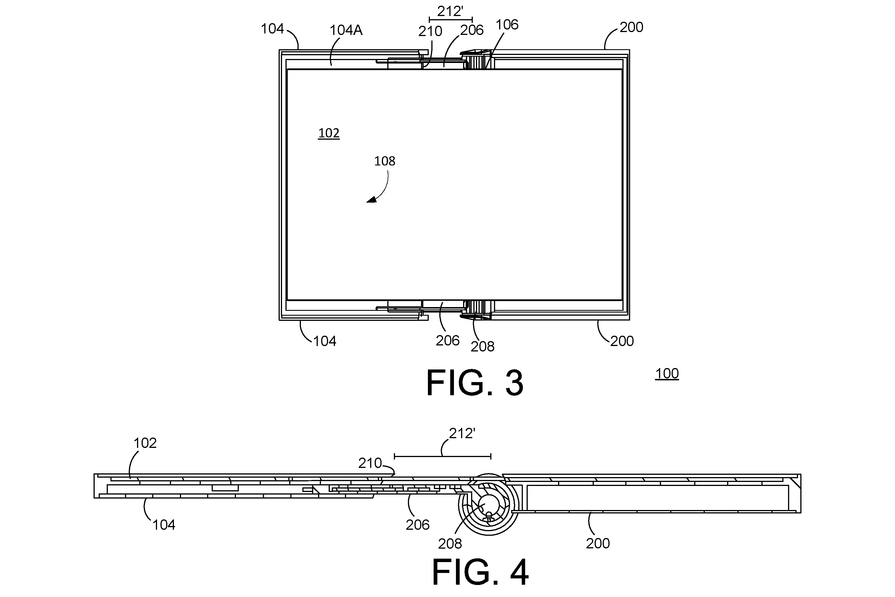 patent illustration for electronic device with flexible display