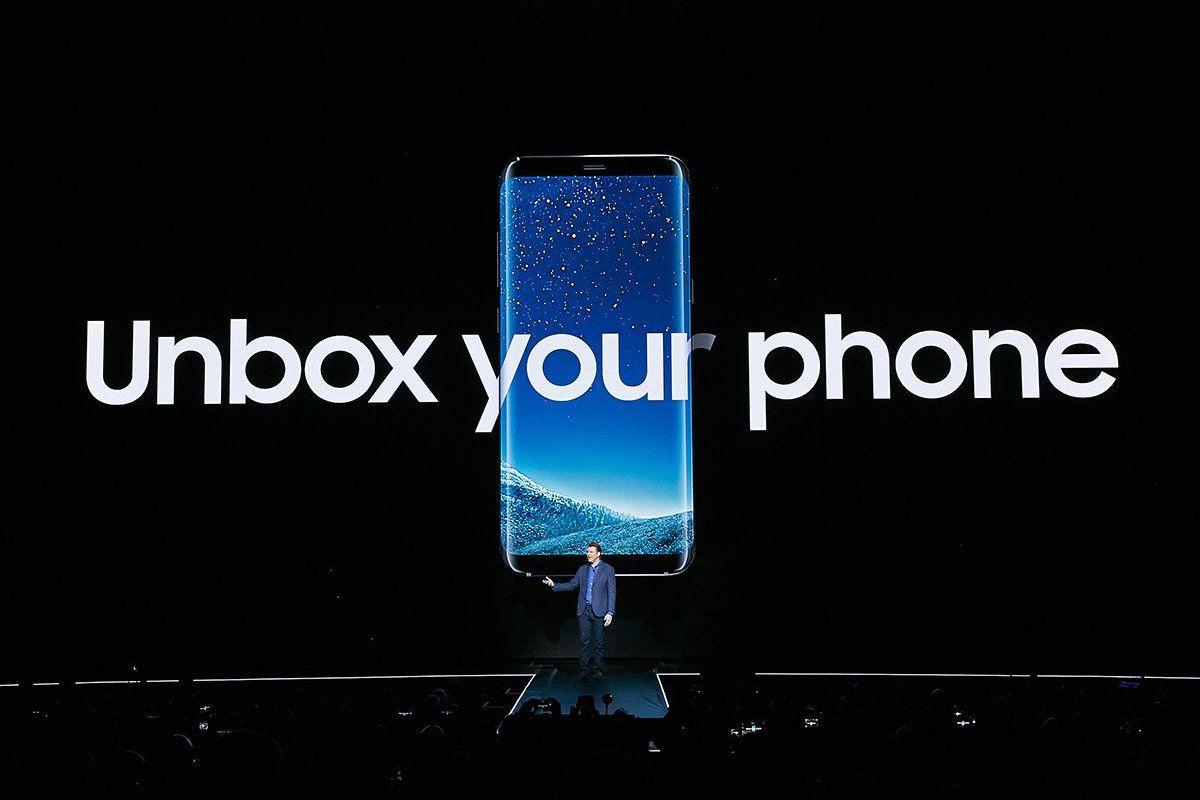 Samsung Galaxy S8 promo event