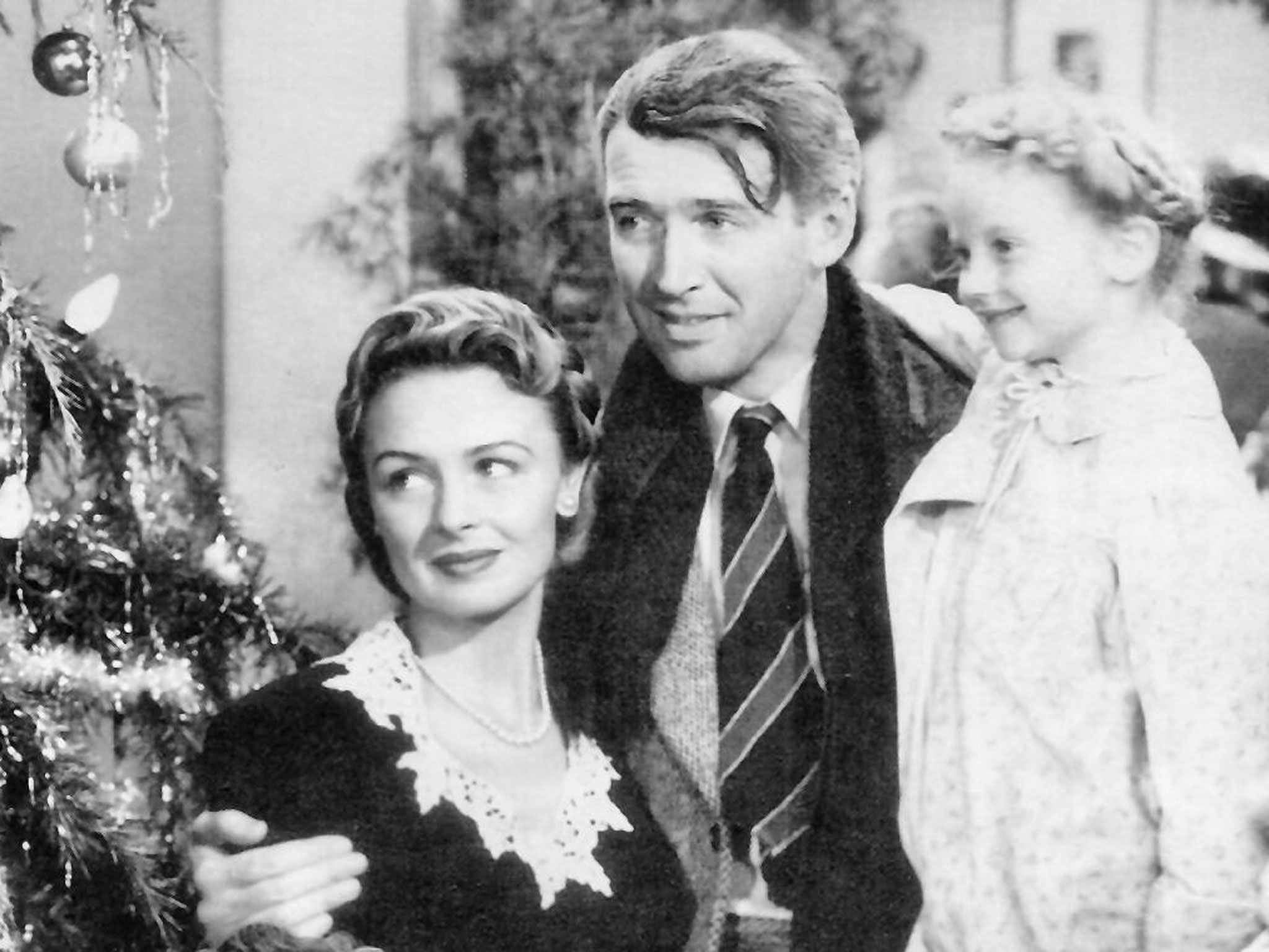 Promotional image for the film It's a Wonderful Life