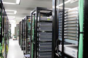 Multiple servers in a server room