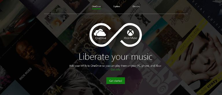 Xbox Music And OneDrive