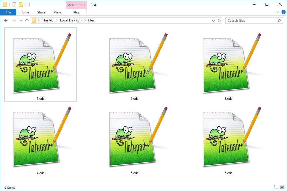 EDS files in Windows 10