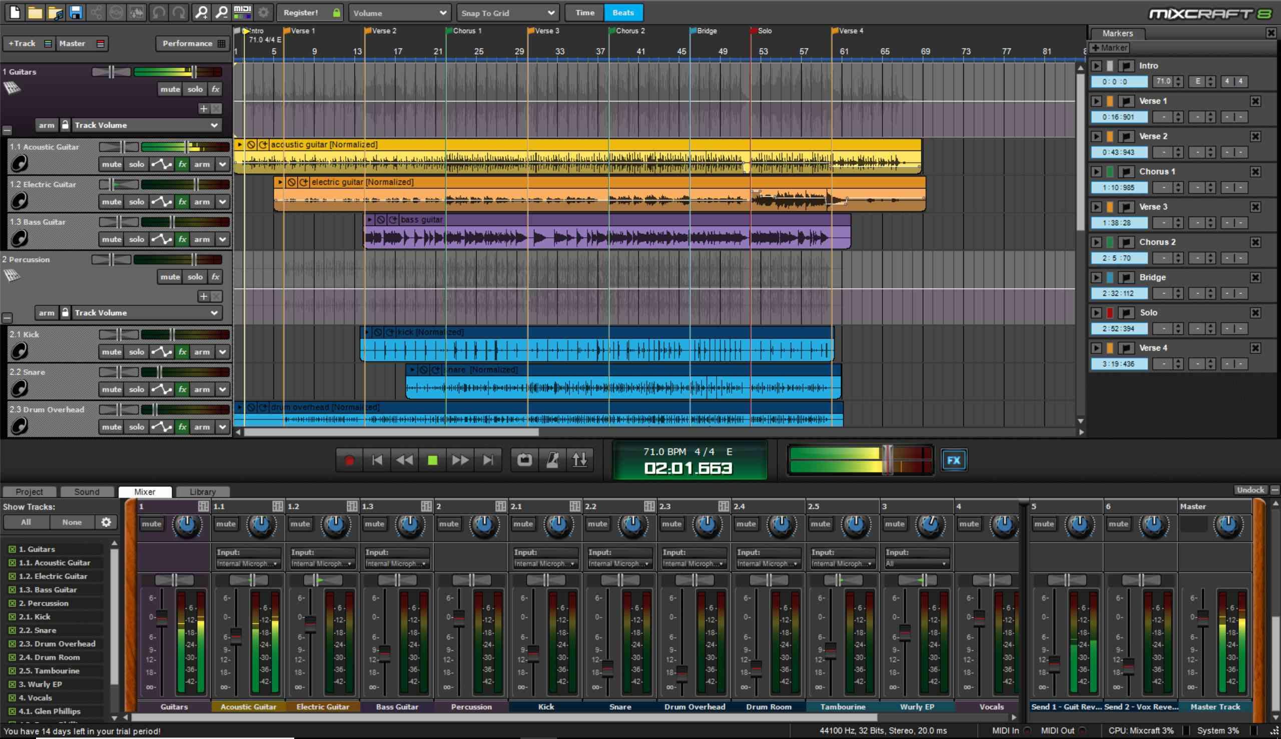 Mixcraft music production app