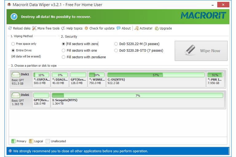 Macrorit Data Wiper v3.2.1