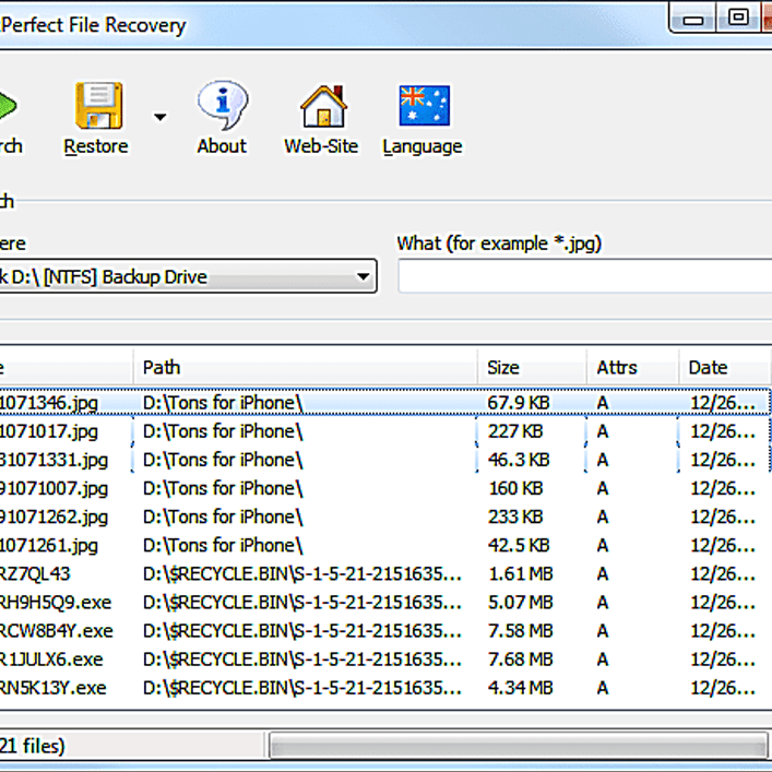 SoftPerfect File Recovery Review (A Free Undelete Tool)
