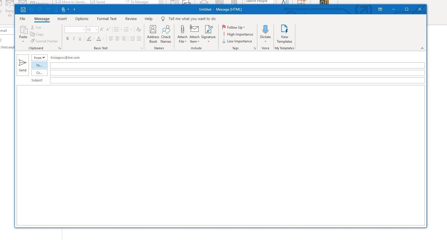 How to Email Every Contact in Your Outlook Address Book