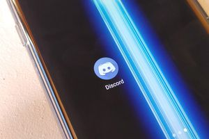 Discord app on a phone