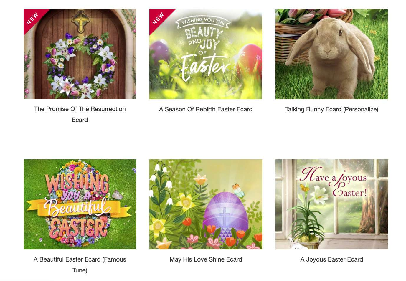 American Greetings Easter E-Cards
