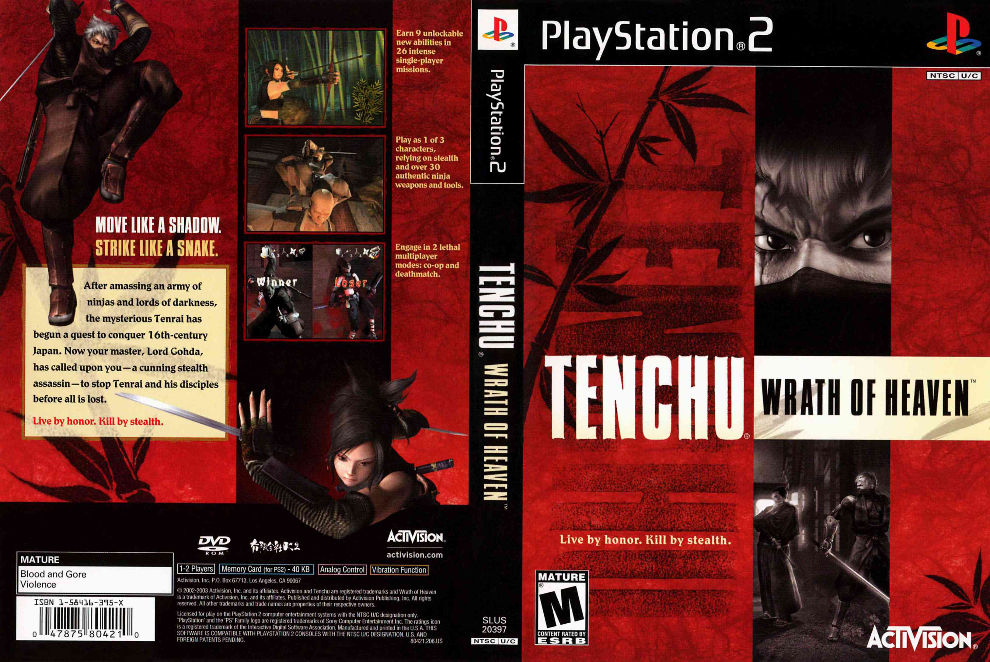 Tenchu 3 Wrath Of Heaven Cheats For Ps2