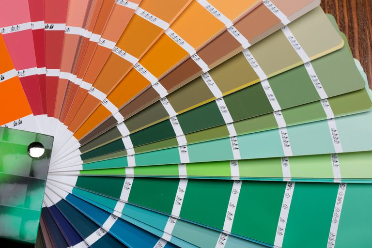 Pantone color palette guide