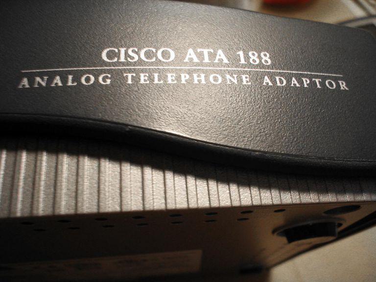 Cisco ATA analog telephone adaptor