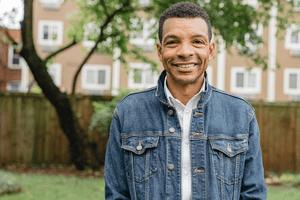 An outdoor portrait of Kevin Dedner