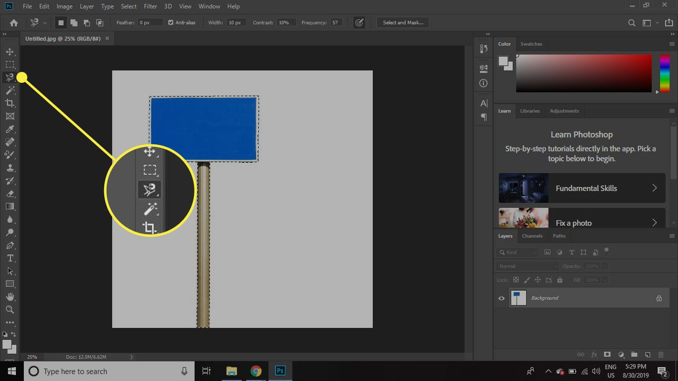 How To Create A Cast Shadow In Adobe Photoshop CC