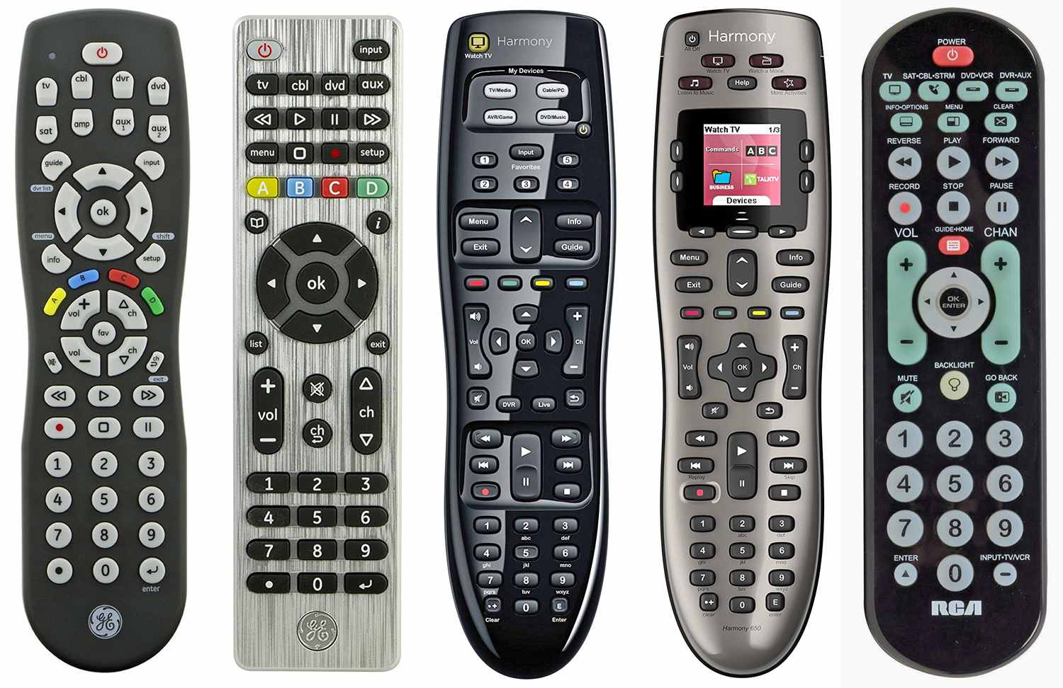 Guide to Universal TV Remotes