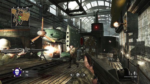 Call of Duty World at War - Map Pack 2 Sub Pens Screenshot