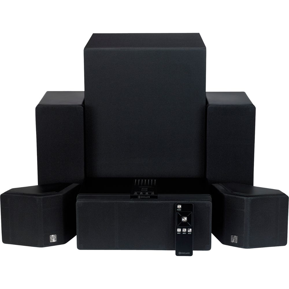 Enclave Audio CineHome 5.1 Wireless Home Theater System