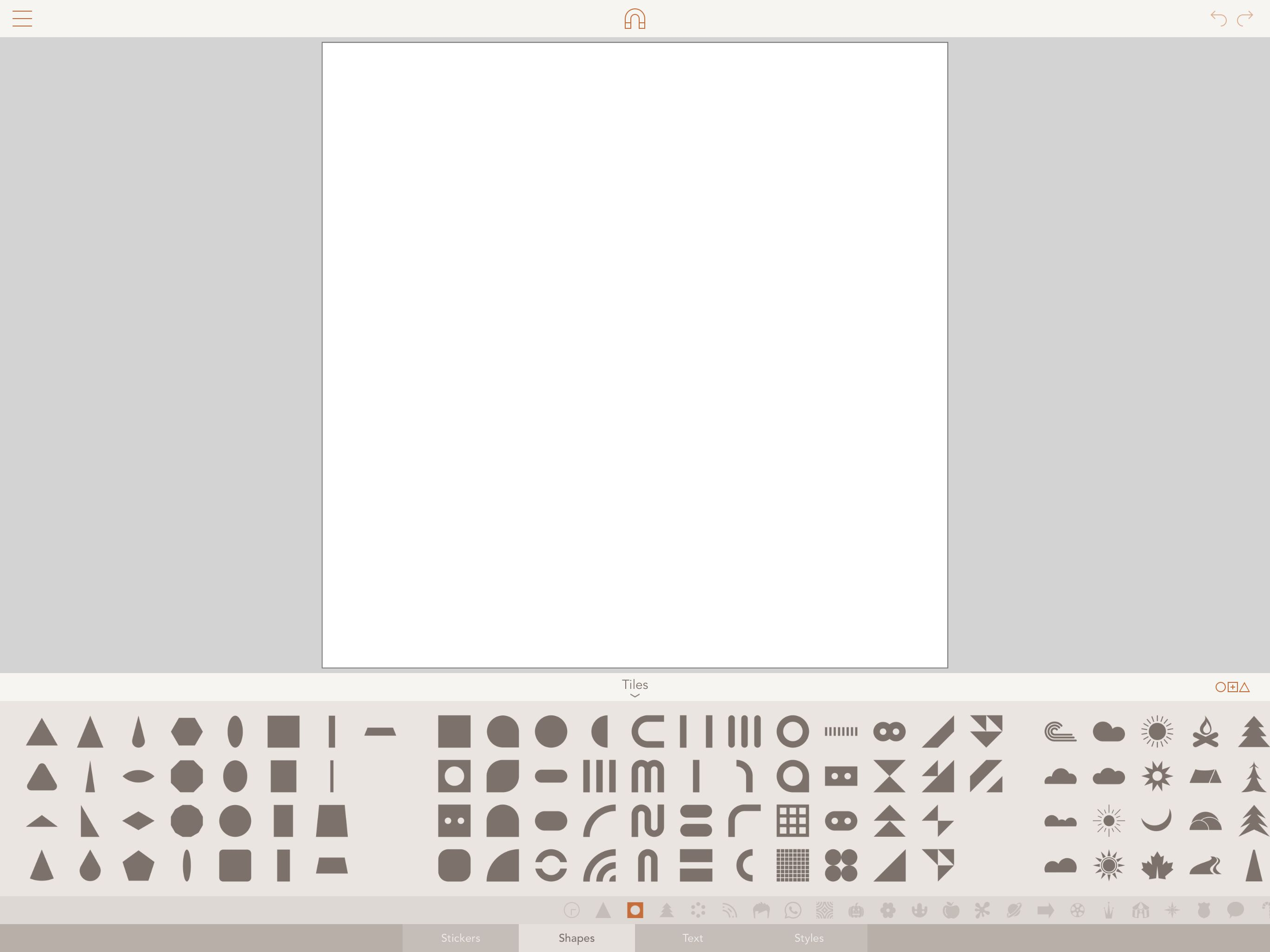 Blank drawing in Assembly