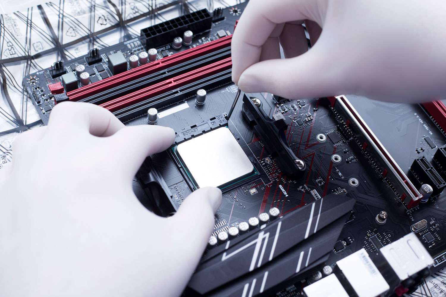 Removing old CPU