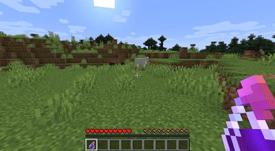 A Splash Potion of Harming in Minecraft.