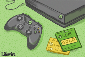 Xbox controller and Live Gold cards