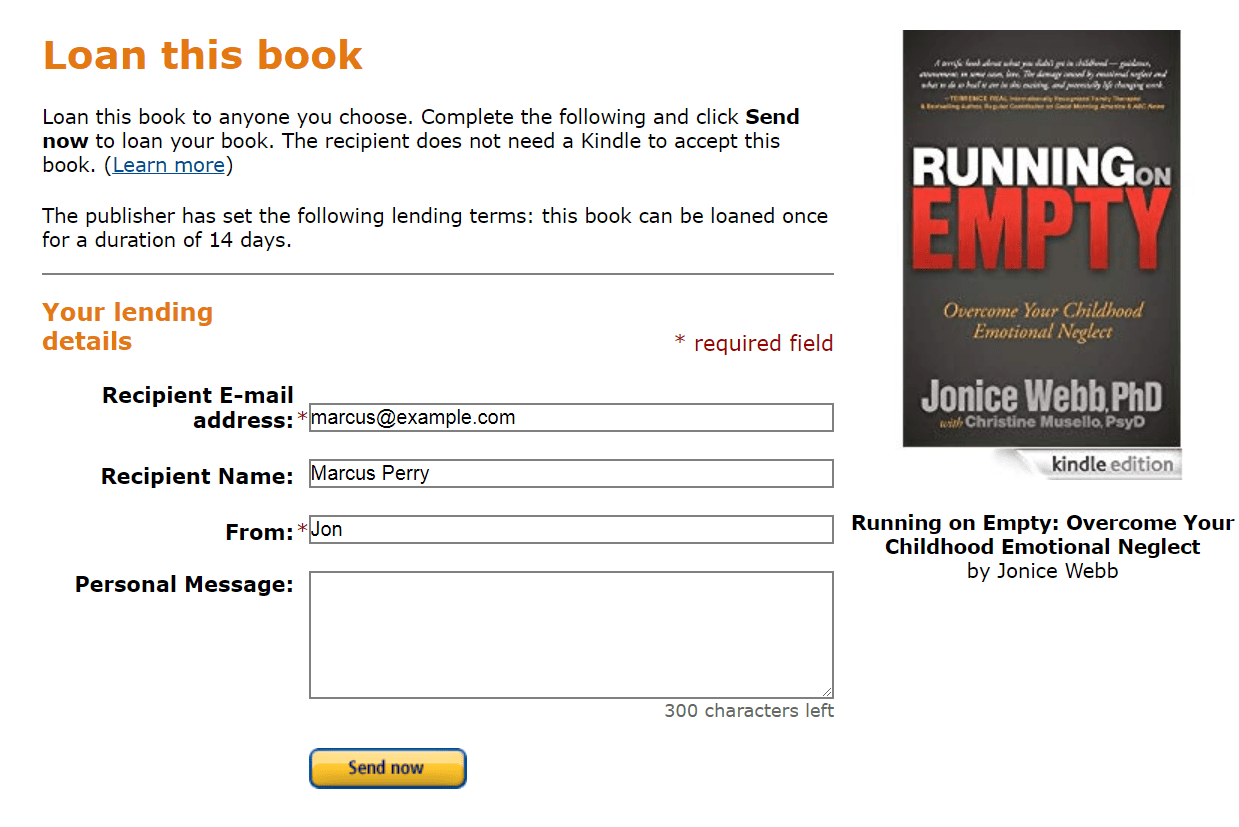 Loan this book page on Amazon