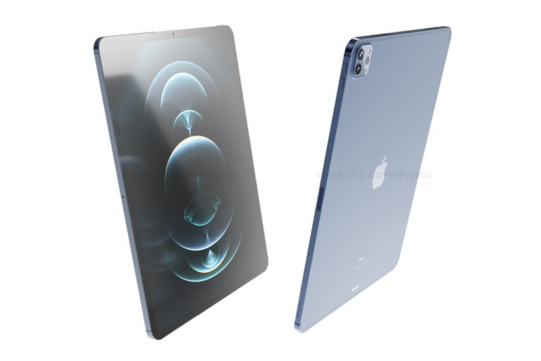 Renders of the new 12.9 inch 2021 iPad Pro