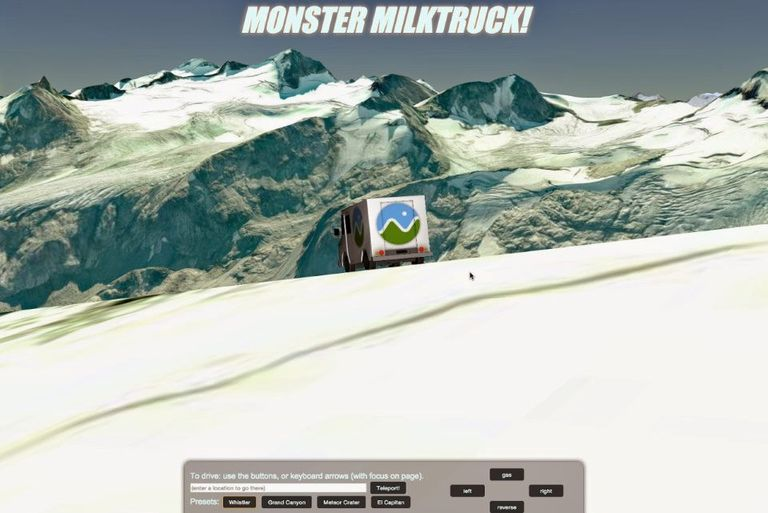 Monster Milk Truck screenshot