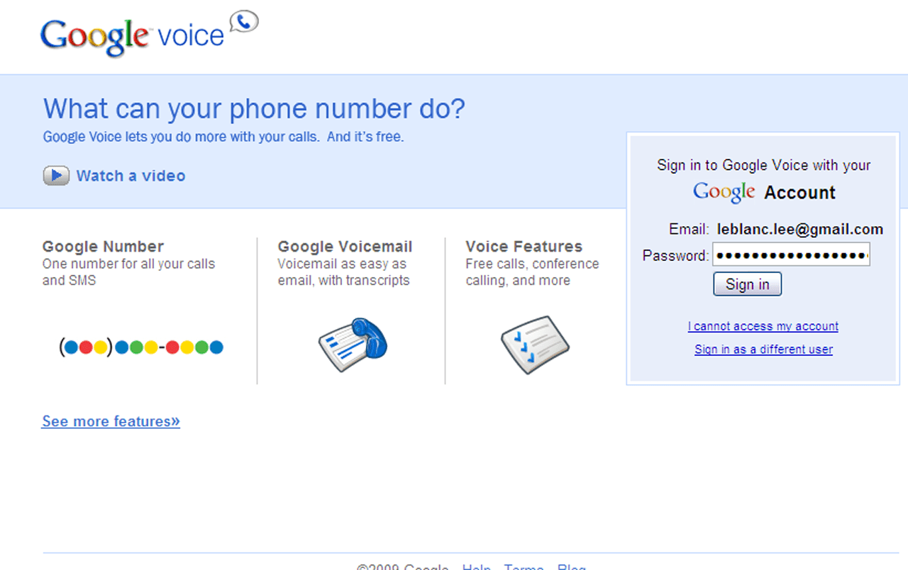 Review of Google's Voice Phone Service