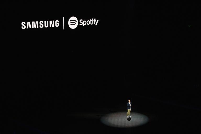 Samsung Spotify partnership