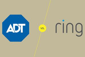 ADT and Ring logos