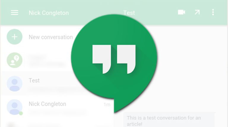 install hangouts extension