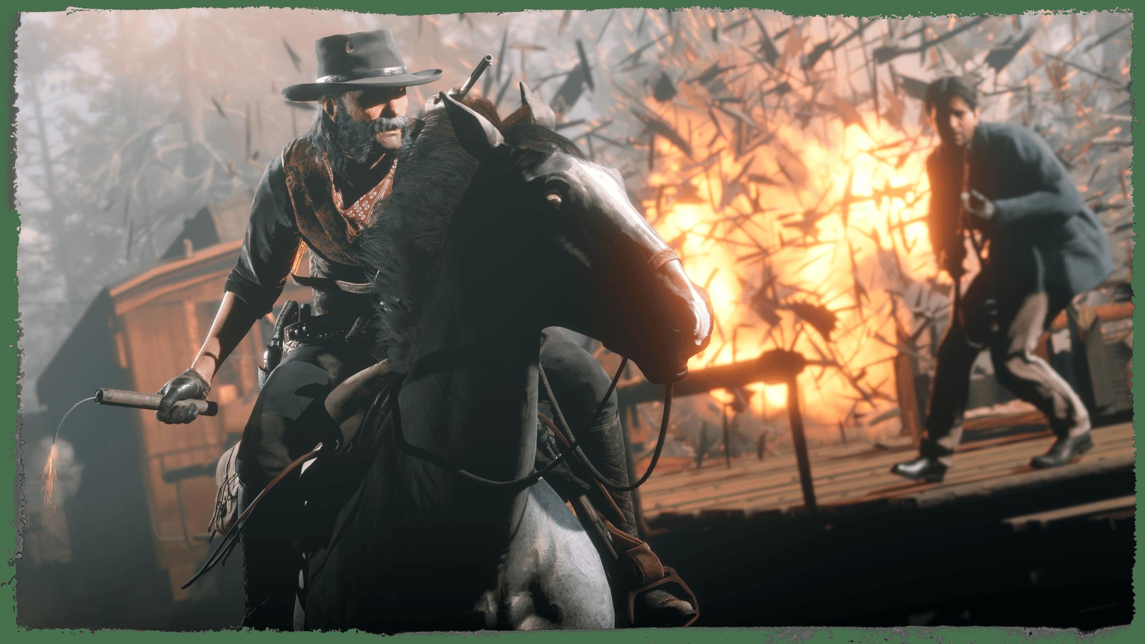 Screenshot from Red Dead Online: Blood Money