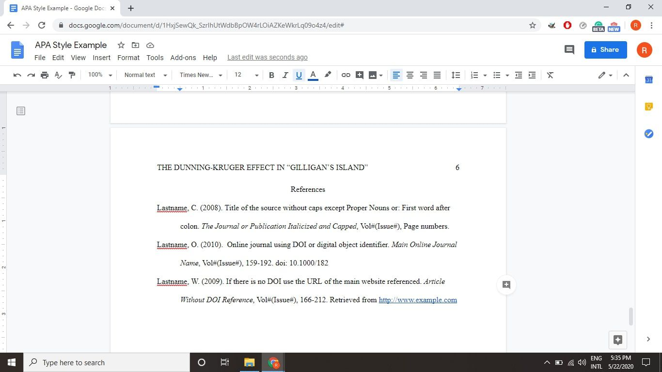How To Use Apa Format In Google Docs Convert document to apa format