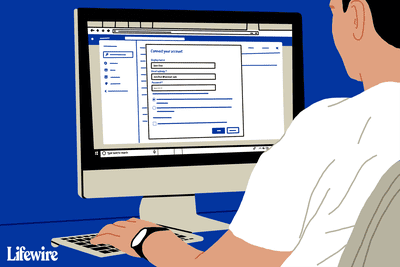 Illustration of a person opening a CAP file