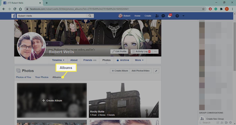 Albums on Facebook.com