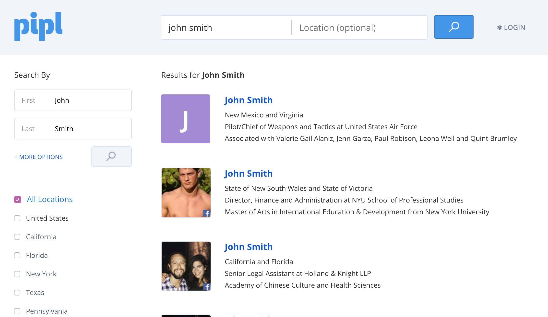 username search australia