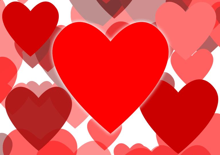 Many Love Hearts