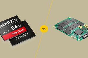 eMMC vs. SSD