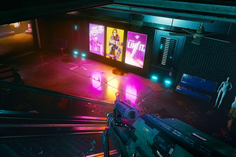 Vending machines in the game Cyberpunk 2077